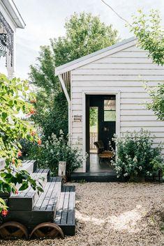 Outdoor Spaces, Outdoor Living, Outdoor Decor, Garden Cottage, Home And Garden, Garden Living, Scandinavian Home, Inspired Homes, Exterior Design