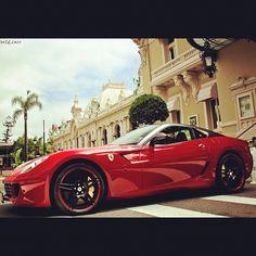 Sexy Ferrari 599 GTO