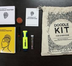 "You've heard of book boxes beauty bags and fashion boxes but have you heard about a kit that will help you learn the art of doodling? Doodle Kit is an initiative to introduce doodling to everyone's life. I was super excited to try it out and even posted a doodle of myself a few weeks ago inspired by the kit. The review of the ""Doodle Kit"" is now up on the blog. Link in bio. . . . #LBTC #DoodleKit #designReview"