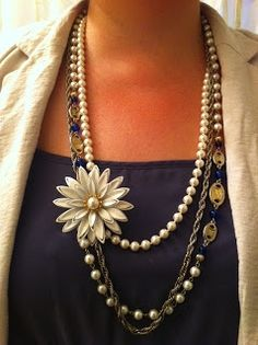 Vintage Baubles & Bits: Photo Update - I don't wear brooches! 10 Ways to Style Vintage Brooches