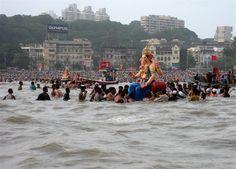 Ganesh Visarjan in Bombay
