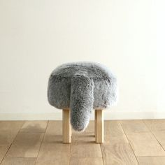 We love Takumi!  This prominent manufacturer of timber #furniture from #Hokkaido #Japan offers expert craftsmanship and only the most inviting #designs.  This #Takumi #animal #stool is one of the favorites at our #SanFrancisco #interiordesign store. #Japanesegirl approved!