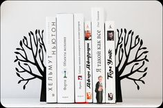 OK, not a book but very cool bookends to hold up all the books worth reading.