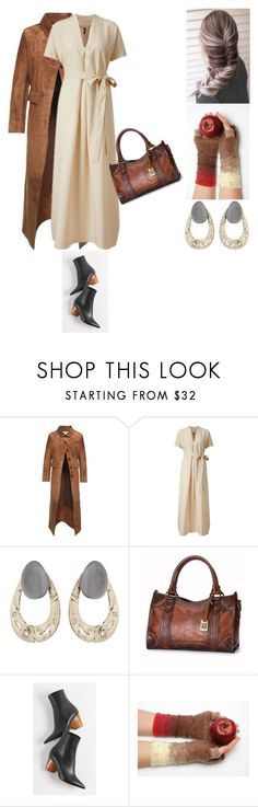 """""""Untitled #481"""" by amory-eyre ❤ liked on Polyvore featuring Acne Studios, Lisa Marie Fernandez, Alexis Bittar, Frye and Paul Andrew"""