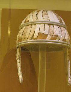 Boar Tusk Helmet from Minoan Knossos (1450 - 1400 BCE) by kiminoa, via Flickr