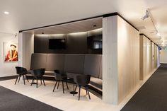La Trobe Chancellery refurbishment by DesignInc utilises our Danish White American Oak on floors, walls and ceilings.  www.royaloakfloors.com.au