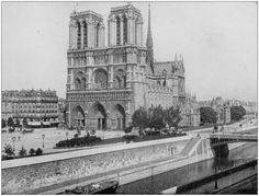 The Notre-Dame cathedral in Paris, with centuries of history, caught on fire on Monday. Paris Images, Paris Pictures, Best Vacation Destinations, Best Vacations, Fairytale Castle, Chapelle, 12th Century, Paris Street, Victor Hugo