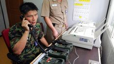 Restoring the phone line will allow discussion on whether North Korea will attend the Winter Olympics.