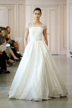 Vestido de Noiva | Trends para a Primavera - Inspire Blog {Fotos via WWD}