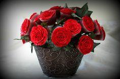 How to Cupcake boeket (alleen hoe het boeket te maken, niet de rozen)