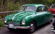Tatra 600 by UdoChristmann on DeviantArt Kustom Kulture, Vw Beetles, Old Cars, Hot Wheels, Techno, Vintage Cars, Old School, Transportation, Classic Cars