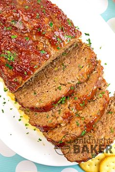 1 Lb Meatloaf Recipe With Crackers.Home Style Meatloaf Recipe Tablespoon Com. Amish Meatloaf Recipe Just A Pinch Recipes. Best Meatloaf Recipes And Meatloaf Cooking Ideas. Home and Family Ritz Cracker Meatloaf Recipe, Meatloaf Recipe With Crackers, Moist Meatloaf Recipes, Cracker Barrel Meatloaf, Ritz Cracker Recipes, Cracker Barrel Recipes, Meatloaf Ingredients, Meat Recipes, Cooking Recipes