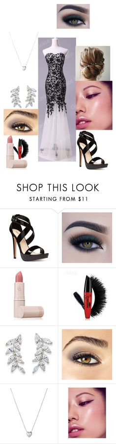 """""""prom outfit"""" by peachy1111 ❤ liked on Polyvore featuring Nine West, Too Faced Cosmetics, Lipstick Queen, Carolee, Avon and Links of London"""
