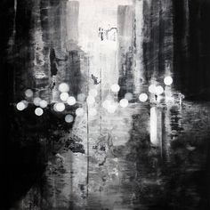 exit  acrylic painting  by Stephane Villafane