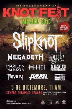 Knotfest México 2015 5 de Diciembre 2015 Centro... |