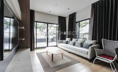 2 Bedroom Condo for Rent at Noble Reveal  -  Learn more of this rental & other available condos or apartments for rent, go to http://www.homeconnectthailand.com/?pagename=search-results&price=75000  This 2 Bedroom Condo for Rent at Noble Reveal is an ultra-modern urban home in a popular residential area. Highlight of this gorgeous home is its spacious 117-square meter spread which features a wide outdoor balcony with ornamental plants and a breathtaking city view. This wel
