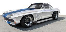 1965 Corvette Resto-Mod - Dean's Garage Corvette History, 1965 Corvette, Sport Cars, Dean, Landscape Photography, Garage, Sports, Carport Garage, Hs Sports
