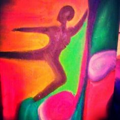 """""""Dance"""" original abstract oil on canvas #art #abstract #oil #paintngs"""