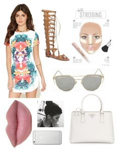 """""""Kylie Jenner Inspo"""" by isabellemorin015 on Polyvore featuring Forever 21, Prada, Vince Camuto and Native Union"""