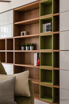 Study Table Designs, Study Room Design, Bookcase Styling, Bookshelf Design, Flat Interior, Modern Interior Design, Home Office Design, House Design, Home Goods Decor