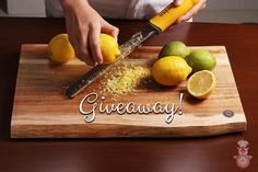 GIVEAWAY ALERT!!! I've teamed up with #DeissKitchenware to give away 3 of these gorgeous zester/graters. What do you need to do to get in the contest? It's easy: 1) Follow me @yamisohungry on Instagram. 2) Like this post.  3) Comment on this post. (Anything you like - tag a friend write me a haiku etc.) 4) (Optional) Repost this picture for a bonus entry. Make sure to tag me so that I know you reposted! _ Deadline to enter is November 29th 2016. 3 winners will be selected at random and…