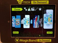 PHOTOS: iPhone X D-Tech on Demand Phone Cases Now Available at Walt Disney World