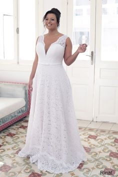 Plus size wedding gowns 2016 rinat (3)