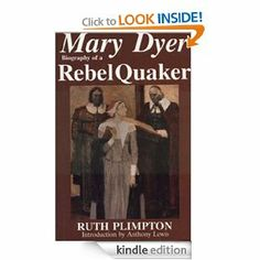 "This is the story of Mary Dyer whose indomitable efforts to seek and find ""freedom to worship"" lead eventually to her death. Her quest began when she and her husband sailed from old to new England in 1635. Landing in Boston, they were soon disillusioned by the intolerant practices and beliefs of the Puritans, who considered that all truth could be found in the Old Testament—and only there."