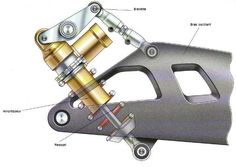 Motorbike Suspension Link