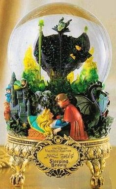 Sleeping Beauty Masters of Animation Snowglobe