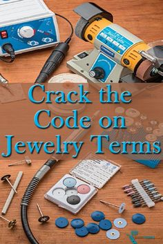 There are literally thousands of jewelry making terms out there, so grab a FREE, handy copy of our jewelry dictionary to crack the code on jewelry terms! #jewelrymaking