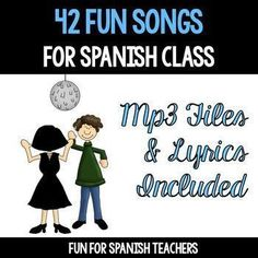 All Year Round contains 42 songs that will add a lot of fun to your Spanish class. It has songs that supports many of your units.It includes lyrics in Spanish.In this album collection you will find the following songs1 -Hola Amigos2 -Cmo Te Llamas T?3 -Ha