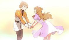 Sister and Brother- Pidge as Katie Holt and Matt from Voltron Legenary Defender