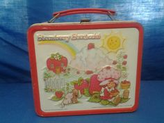Strawberry Shortcake Lunchbox with Thermos