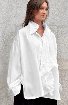 Novel Shirt in White Carnaby, Kaliyana.com