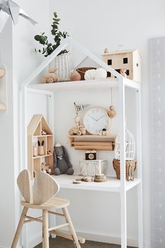 For Sarah Pickersgill-Brown, home is both a sanctuary for her beloved family and a creative project with an audience of thousands. Upstairs Bedroom, Kids Bedroom, Playroom Table, Deco Kids, Nursery Room Decor, Wall Decor Kids Room, Modern Kids, House And Home Magazine, Kids Furniture