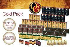 organo gold pack