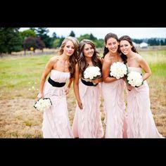 Vera wang  bridesmaid dresses Vera weighing bridesmaids dresses. Blush color. Sizes 8 4 2 each dress what 189.99 Vera Wang Dresses Strapless