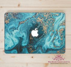Marbled Wave MacBook Skin. Marbled Wave Laptop Skin.