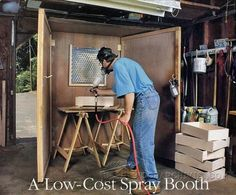 Make Spray Booth - Finishing Tips and Techniques | WoodArchivist.com