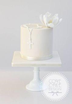 Orange cake without flour - HQ Recipes Comunion Cakes, Baptism Party Decorations, First Holy Communion Cake, Religious Cakes, Confirmation Cakes, Savoury Cake, Celebration Cakes, Christening, Cake Decorating