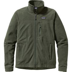 Patagonia Oakes Fleece Jacket ($129) ❤ liked on Polyvore featuring men's fashion, men's clothing, men's outerwear, men's jackets, mens lightweight fleece jacket, mens fleece outerwear, mens jackets and mens light weight jackets