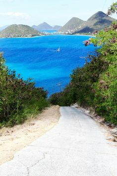 Tortola, BVI...drive at your own risk! Beautiful...and dangerous, esp. On Full Moon evening....