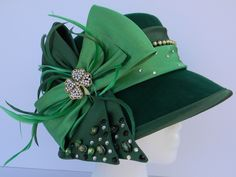 """You'll be a lucky lady in """"Lucky Charm"""" this St. Patrick's Day! Available at www.etsy.com/inhatuation"""