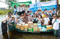 Nu Skin Supports Victims of the Worst FloodingThailand's Seen In Decades through Nu Skin's Force for Good Foundation @nuskinna #nuskin