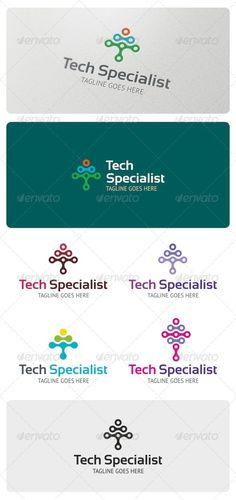 Tech+Specialist+Logo+Template