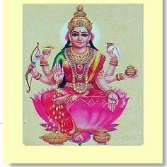 Explore the 8 Forms of Lakshmi: Dhana-Lakshmi