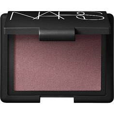 NARS Blush (sin) my favorite blush ever! Kind of a cool berry, not too intense,  a little bit of shimmer.