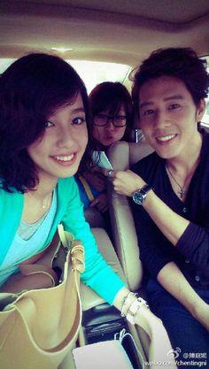 Annie Chen & George Hu - Set love around filming