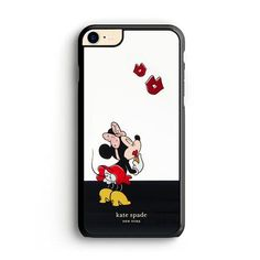 New York Kate Spade X Minnie Mouse Kiss iPhone 8 Case – Miloscase Iphone 8 Cases, How To Know, Minnie Mouse, Kiss, Kate Spade, York, A Kiss, Kiss Me, Kisses